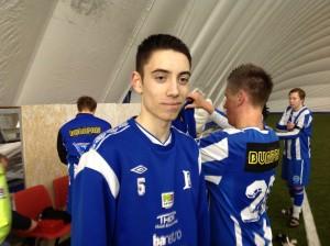 Steffen Strøm var skuffet over eget lags spill.