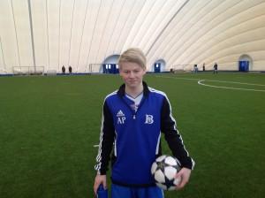 Aleksander W. Pedersen gjorde hat-trick.
