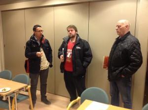 Fra 2014: Åge Slotvik (BIL), Roger Haugen (Tjalg) og Steinar Solli (Sømna)