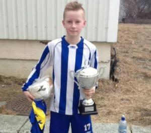 Eskil Svartis ble kåret til småguttefinalens bestemann
