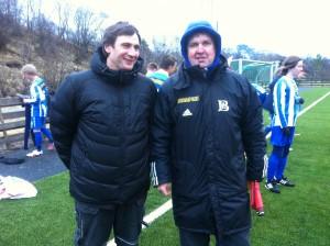 Trenerduo Jan Kristiansen og Jan Solbakk