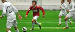 Måtte ut med skade: Joakim Stormo Halsen