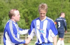 Ulrik Saltnes, fra tiden han spilte i BIL.