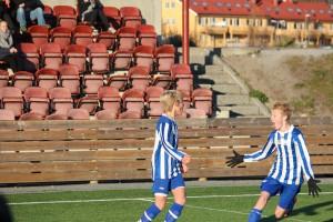 Anders Laukvik stormer til da Jørgen avgjorde kampen (foto: Lars Solbakk