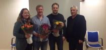 Renate Mathisen, Roy Arve Pedersen, Knut Anders Vongraven og Ole Inge Jenssen gir seg