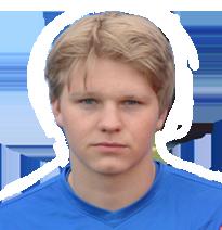 Midtbaneterrier Fredrik Salhus var en av de mest fremtredende spillerne ute på SKS Arena