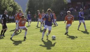 Eks BIL-gutt Stian Kristiansen kom til kort mot sine gamle lagkompiser (Foto: Helgelendingen)
