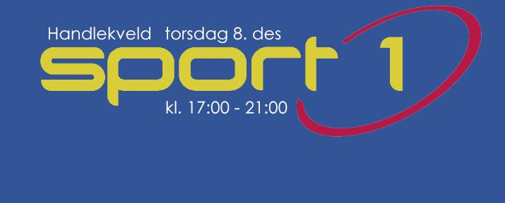 Handlekveld på Sport 1 torsdag