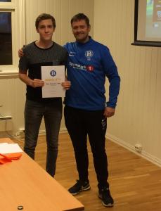 Mest Uvikling Junior: Fredrik Eide