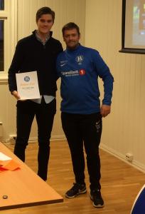 Årets Spiller: Tobias Korsgaten