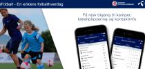 Ny versjon av MinFotball-appen