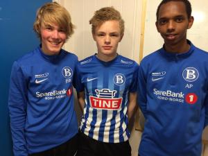 Ungguttene Jørgen, August og Abdi scoret sine første mål på a-lagsnivå
