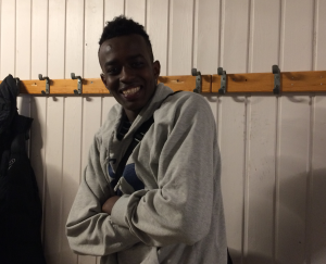 17 årige Musoni Brayn fikk sitt første innhopp på a-lagsnivå