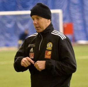 Stål-trener Per Gunnar Tysnes har forsterket laget