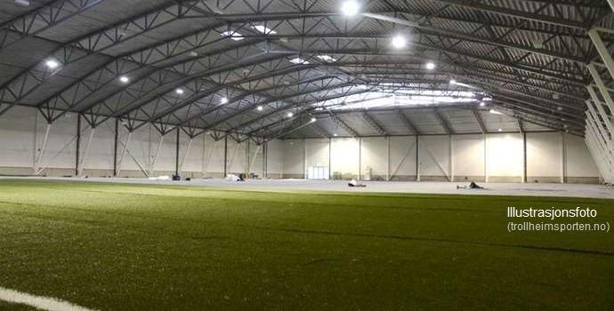 – Fotballhallen klar i 2018