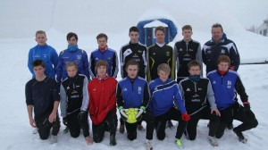 Juniorlaget (Foto: Jøran Horn, BA-nett).