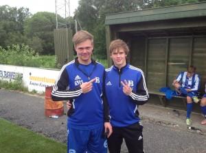 Goalgetterne: Ørjan Haugen og Lars Solbakk (2).