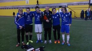 F.v: Adrian, Dennis, Lasse, Roy Arve, Joakim og Stian