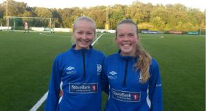 Ulvida Slotvik og Emma Haugen er blant de uttatte.
