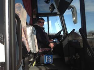 Bussjåfør Bjørn A. Øksnes