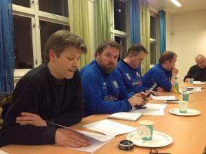 Noen av de som deltok på årsmøtet