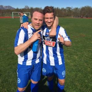 Andreas og Joakim scoret BILs mål.