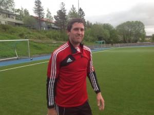 Nye Messi: Sømnas spillende trener Simen Garaas