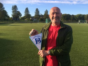 BIL-leder Leif Morten Slotvik er glad for gaven