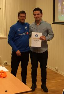 Årets Spiller Junior: Andreas Solli