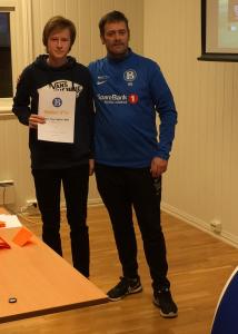 Årets Unge Spiller Junior: Eskil Svartis