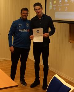 Årets Unge spiller: Lasse Lien