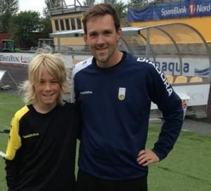 Thomas Aakvik sammen med BILs Jørgen Sebaster i 2013.